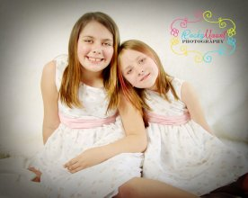 The girls on Easter 2012