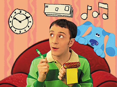Wordless Wednesday Blues Clues