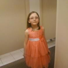 Olivia's Easter Dress