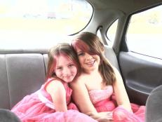 My 2 daughters: Madison & Olivia on Easter 2013