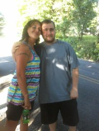 My cousin Derek and I on July 15, 2011. He regrettably passed away on July 21, 2011