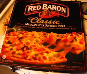 red baron mexican pizza