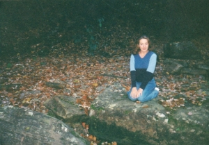 Me in my hometown, October 2000.