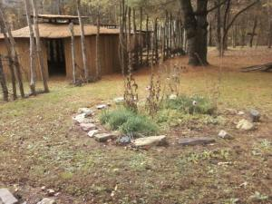 Inside the village at Wolf Creek, they shared a whole circle for 'friendship'.