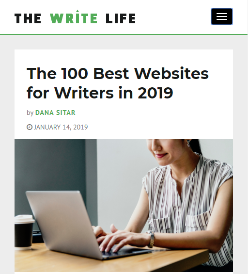 100 Best Websites for Writers in 2019 via The Write Life
